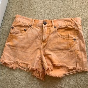 SOLD!!! Free people Jean shorts